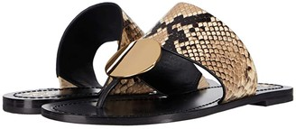 Tory Burch Patos Disk Sandal (Ivory/Navy/Blue Yonder/Perfect Navy) Women's Sandals