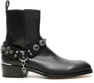 Alexander McQueen Harness Booties
