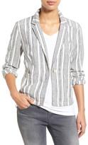 Caslon Linen One-Button Jacket