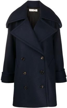 Marni Oversized Double-Breasted Coat