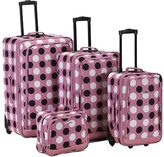 Rockland 4 Piece Luggage Set F106