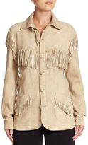 Ralph Lauren Suede Garrison Shirt Jacket