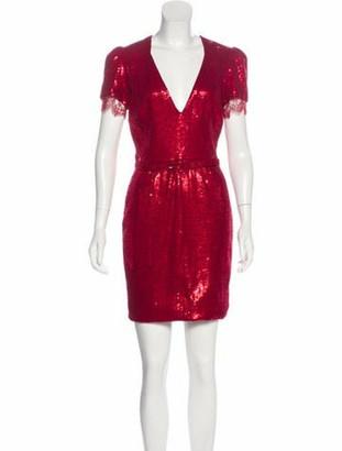 HANEY Sequin Mini Dress