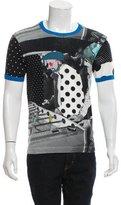 Dolce & Gabbana Printed Crew Neck T-Shirt
