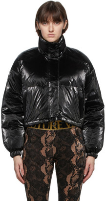 Versace Jeans Couture Reversible Multicolor Down All Over Print Jacket
