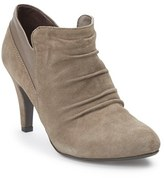 Me Too Women's 'Devyn' Ruched Suede Bootie