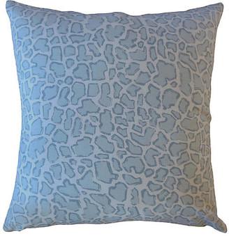 One Kings Lane Bea Pillow - Blue - 18x18