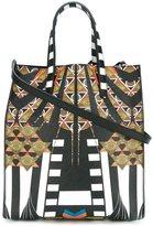 Givenchy medium Egyptian art deco printed tote
