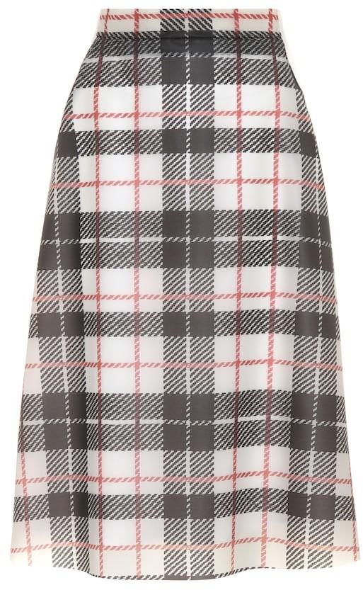 burberry tartan skirt