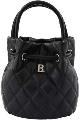 Balenciaga B small model leather bucket bag