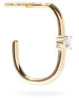 Otiumberg Diamond & Recycled 9kt Gold Single Earring - Yellow Gold