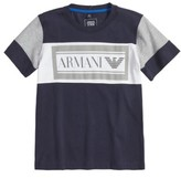 Armani Junior Boy's Logo Graphic T-Shirt