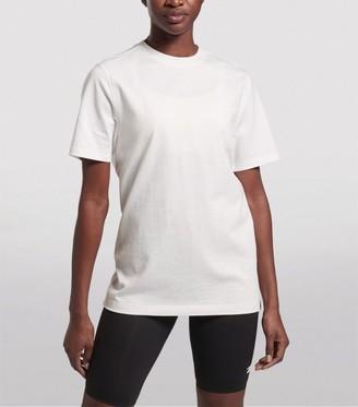 Reebok x Victoria Beckham Logo Reverse Cotton T-Shirt