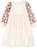 Chloé Mini Me hippie style silk dress