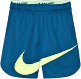Nike Blue Swoosh Vent Shorts