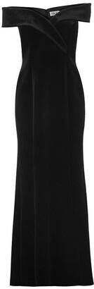 Brinker & Eliza Bardot velvet gown
