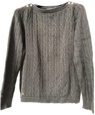 Lauren Ralph Lauren Khaki Cotton Knitwear for Women