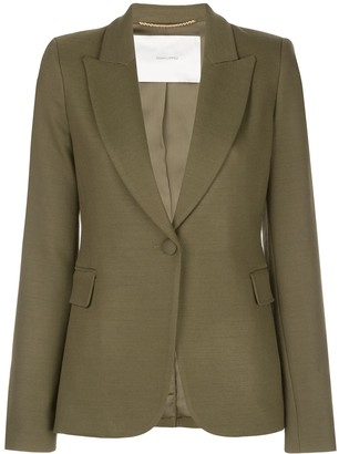 Adam Lippes Fitted Blazer