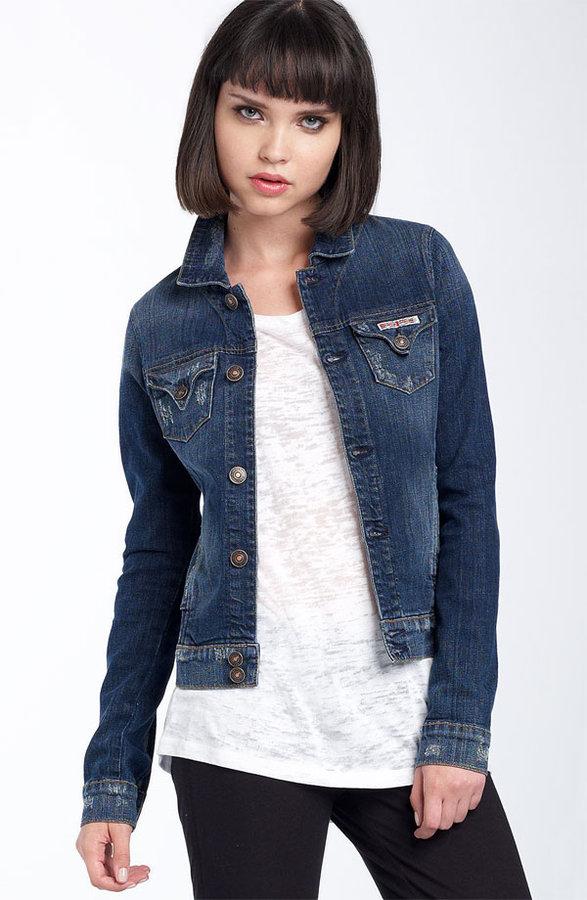 Hudson Jeans 'Kasidy' Stretch Denim Jacket