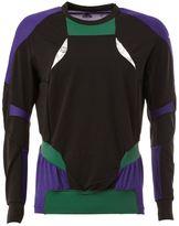 adidas Kolor x panelled sweatshirt - men - Polyamide/Polyester/Spandex/Elastane - S
