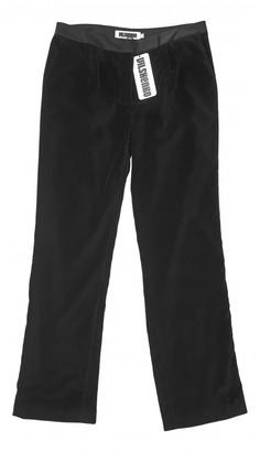 Vilshenko Black Velvet Trousers