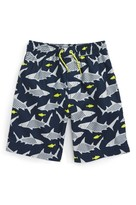 Tea Collection Toddler Boy's Wobbegong Shark Print Swim Trunks