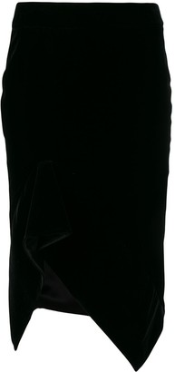 Tom Ford Ruched Pencil Skirt
