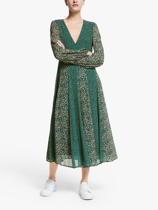 Farah Y.A.S Midi Dress, Green
