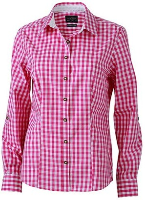 James & Nicholson Women's Ladies' Traditional Shirt Blouse