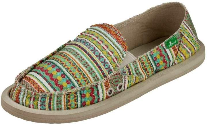 Sanuk Casual Shoes Womens Donna Blanket 5 Citrus Lanai 1016485