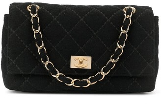 Chanel Pre Owned Double Chain shoulder bag