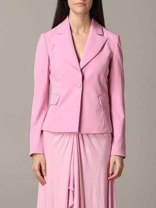 Be Blumarine Single-breasted Cady Jacket