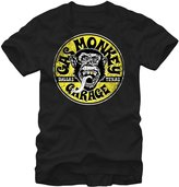 Fifth Sun Official Licensed Gas Monkey Garage Logo Gold Tooth Vintage Style Men's T-Shirt