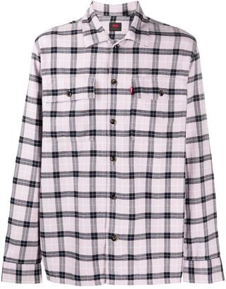 Levi's Plaid Cotton Shirt