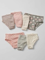 Gap Hearts & stripes bikini briefs (7-pack)