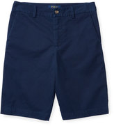 Ralph Lauren Twill Shorts, Blue, Sizes 2-4