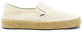 Vans Slip-On Espadrille in Cream
