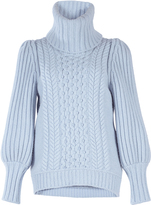 Temperley London Shade Cable-Knit Sweater