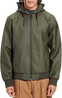 UGG Men's Diego Rubberized Bomber Rain Jacket