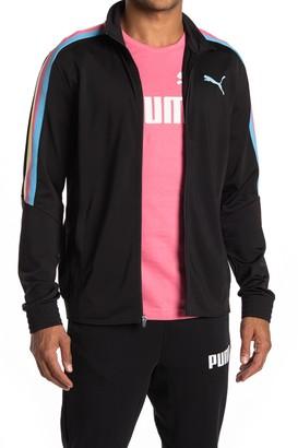 Puma Contrast Striped Jacket