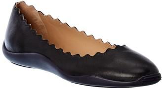 Chloé Lauren Leather Ballet Flat