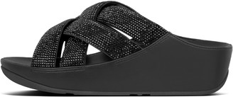FitFlop Lattice Crystal Cross Slides