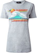 DSQUARED2 summer print T-shirt