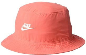 Nike Washed Bucket Cap (Track Red) Caps