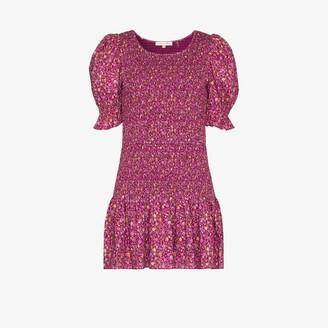 LoveShackFancy Luppa smocked floral print dress