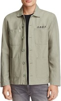 Obey Lookout Rose Print Utility Jacket - 100% Exclusive