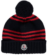 Moncler Striped Beanie