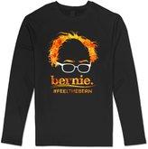 Sarah Men's Election 2016 Bernie Sanders Hair Minimalist Royal Feel The Bern Long Sleeve T-shirt XL