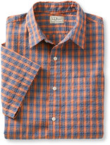 L.L. Bean Men's Rocky Coast Shirt, Slightly Fitted Check