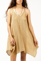 Azalea Eyelet V-Neck Strappy Dress